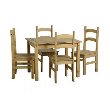 Mexican Dining Table with 4 Chairs