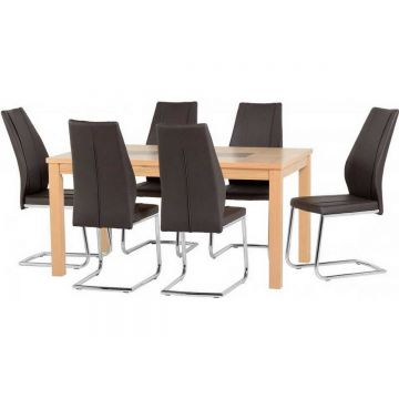 """Wexford 59"""" Dining Table with 6 A1 Chairs"""