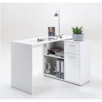 Carin Corner Flexi Desk with Drawers