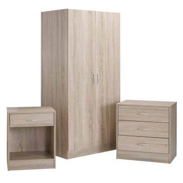 Delta 3 Piece Bedroom Set