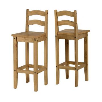 Corona Bar Chairs (Pair)