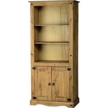 Corona 2 Door Display Unit / Bookcase
