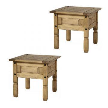 Corona Lamp Tables (Set of 2)