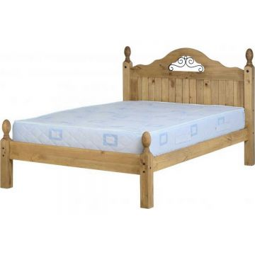 Corona Scroll Bed Low Foot End