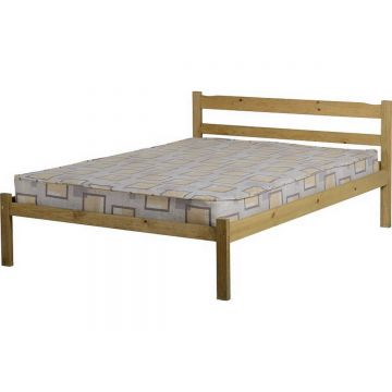 Panama Natural Wax Pine Bed