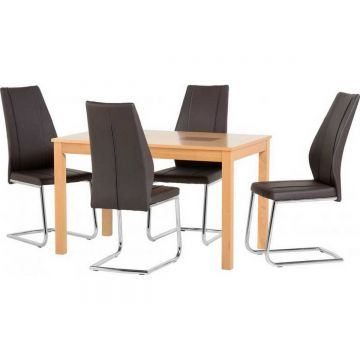 """Wexford 47"""" Dining Table with 4 A1 Chairs"""
