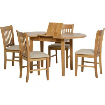 Oxford Extending Dining Table with 4 Chairs