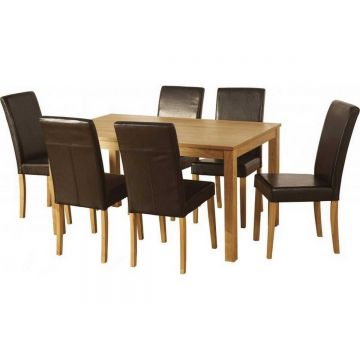 Ashbourne Dining Table with 6 G3 Chairs