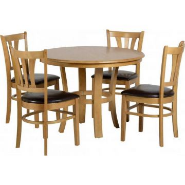 Grosvenor Round Dining Table with 4 Chairs