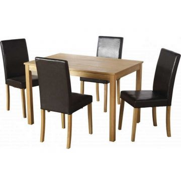 Ashmere Dining Table with 4 Chairs
