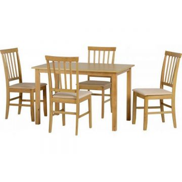 Selina Dining Table with 4 Chairs