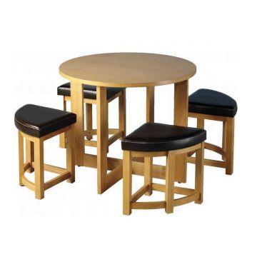 Sherwood 4 Seater Stowaway Dining Set