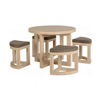 Cambourne 4 Seater Stowaway Dining Set
