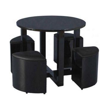 Charisma 4 Seater Stowaway Dining Set