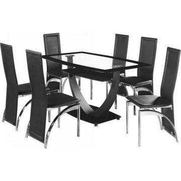 Henley Dining Table with 6 Chairs