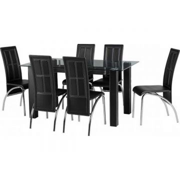 Stanton Dining Table with 6 Chairs