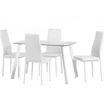 """Abbey 47"""" Dining Table with 4 Chairs"""
