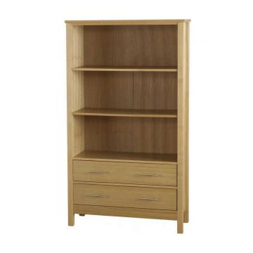Oakleigh 2 Drawer Tall Bookcase