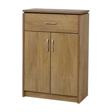 Charles 2 Door 1 Drawer Shoe Cabinet