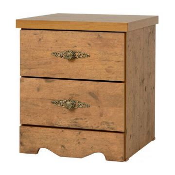 Cairo 2 Drawer Bedside Chest