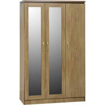Charles 3 Door All Hanging Wardrobe