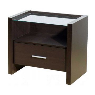 Denver 1 Drawer Bedside Cabinet