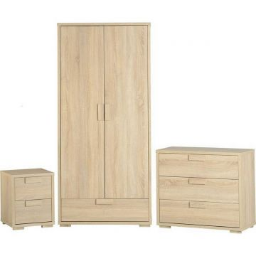 Cambourne Bedroom Set in Sonoma Oak