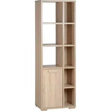 Cambourne 1 Door 5 Shelf Display Unit