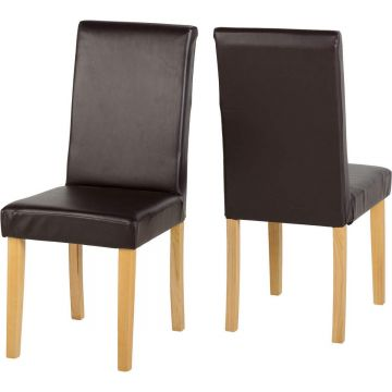 Dorian Leather Dining Chair