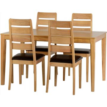 Logan Dining Table with 4 Chairs