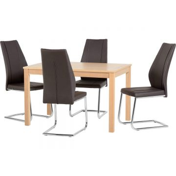 Oakmere Dining Table with 4 A1 Chairs