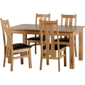 Stratford Dining Set with 4 Chairs