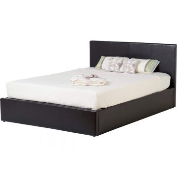 Waverly Leather Ottoman Bed