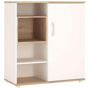 4KIDS Low Cabinet Wardrobe With Sliding Door
