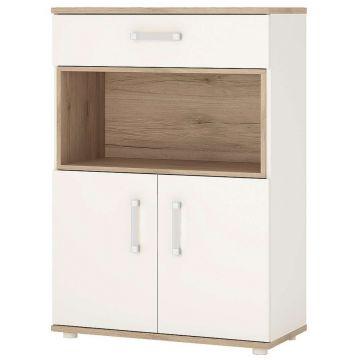 4KIDS 2 Door 1 Drawer Cupboard