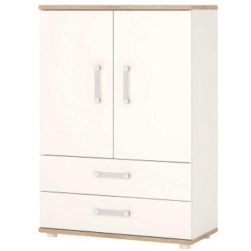 4KIDS 2 Door 2 Drawer Cabinet