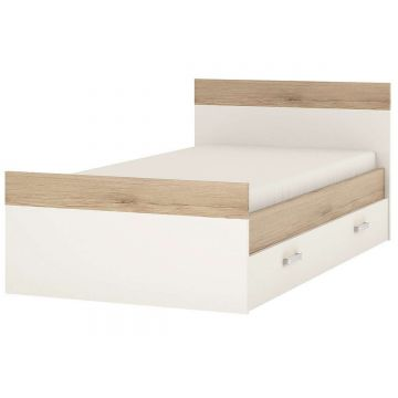 4KIDS Single Bed With Under Bed Drawer