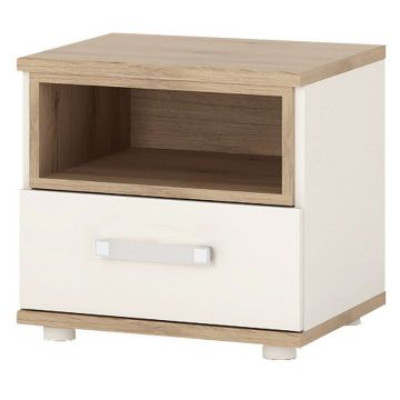 4KIDS 1 Drawer Bedside Cabinet