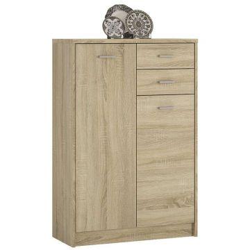 4YOU Tall 2 Door 2 Drawer Cupboard