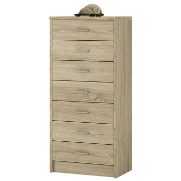 4YOU 7 Drawer Narrow Chest