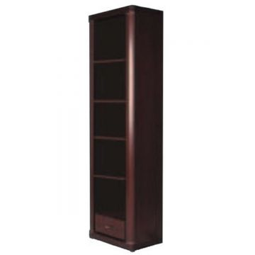 Camden Tall Narrow 1 Drawer Bookcase