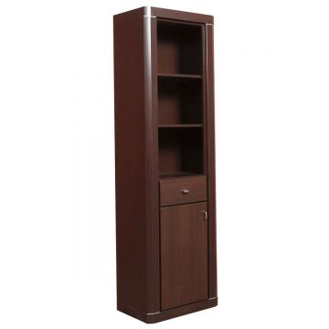 Camden Tall 1 Door 1 Drawer 83Cm Glazed Cabinet