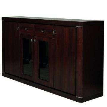 Camden Wide 4 Door 2 Drawer Glazed Sideboard