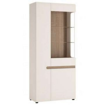 Chelsea Tall Glazed Wide Display Unit (LH)