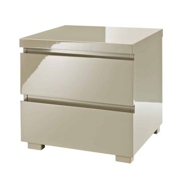 Puro Stone 2 Drawer Bedside Cabinet