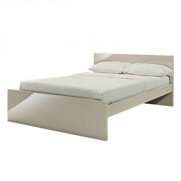 Puro Stone Wooden Bed