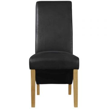 Treviso Leather Dining Chair (Pair)
