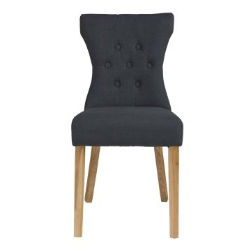 Naples Fabric Dining Chair (Pair)