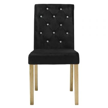 Paris Velvet Dining Chair (Pair)