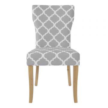 Hugo Fabric Dining Chair (Pair)